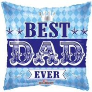 "BEST DAD EVER BALLOON  18""  86071-LK"